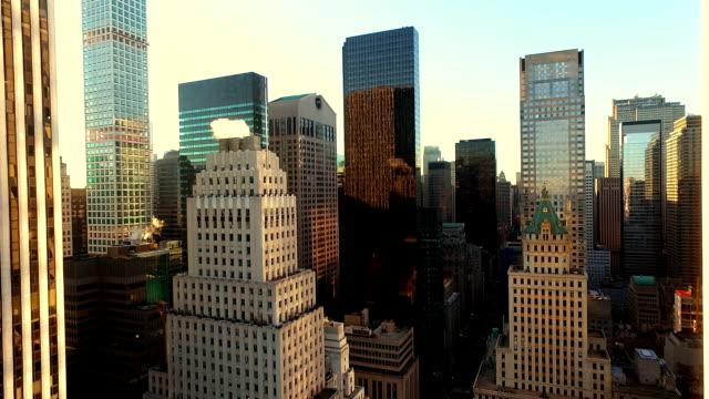 Luftbild von Neu York Stadt Straße
