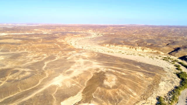 Aerial view of north Sinai, Egypt