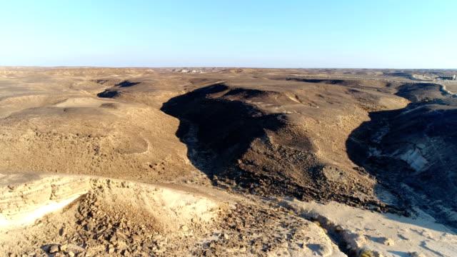 aerial view of north sinai, egypt - sinai egitto video stock e b–roll