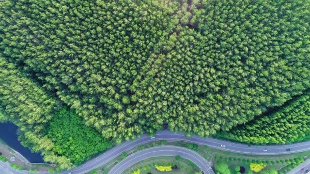 vidéos et rushes de vue aérienne du pont - échangeur