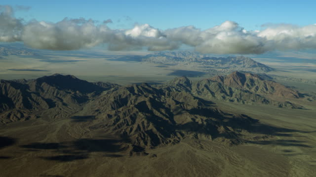 aerial view of palen mountains in california - riverside california stock videos and b-roll footage