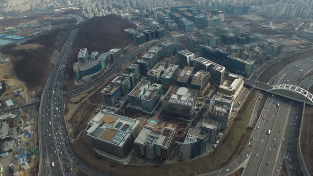 Aerial View of Pangyo techno valley