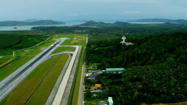 aerial view of phang nga bay, thailand - andamansjön bildbanksvideor och videomaterial från bakom kulisserna