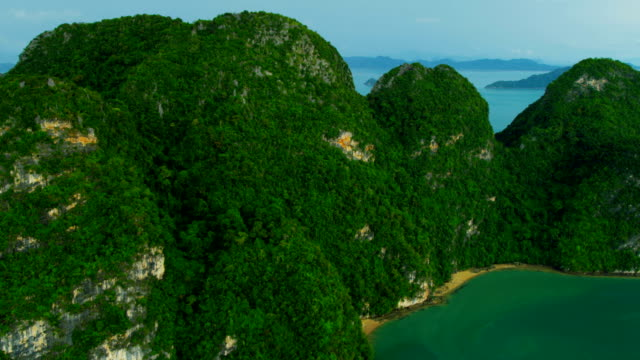 Aerial view of Phang nga bay, Thailand