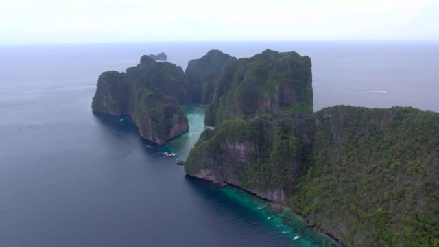 Aerial View of PhiPhi island