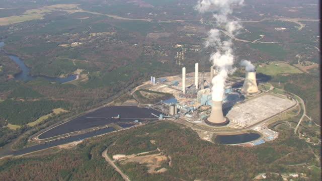 Luftbild von Power Plant