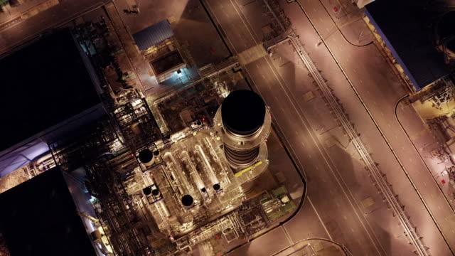 stockvideo's en b-roll-footage met luchtfoto van krachtcentrale - arts culture and entertainment