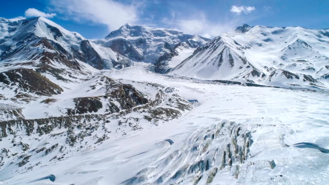aerial view of qinghai - antarctica iceberg stock videos & royalty-free footage