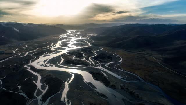 Luchtfoto van Qinghai