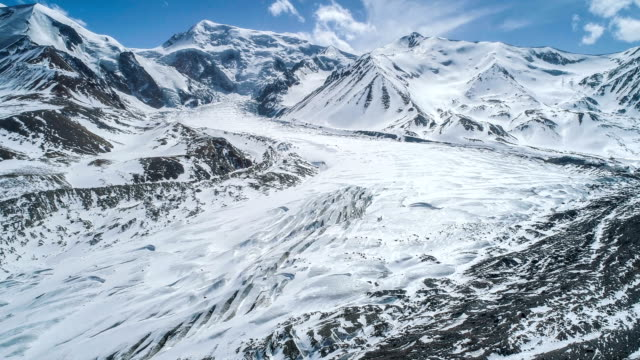 aerial view of qinghai - south pole stock videos & royalty-free footage