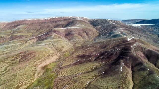 aerial view of qinghai - tibetan plateau stock videos & royalty-free footage