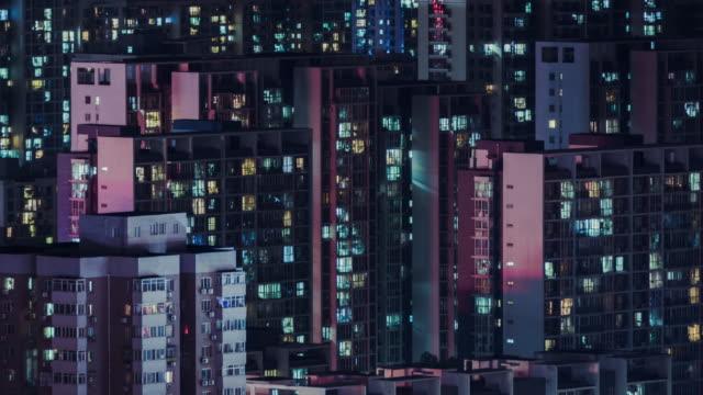 t/l tu flygfoto över bostadshus / peking - fönsterrad bildbanksvideor och videomaterial från bakom kulisserna