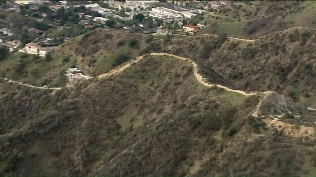 KTLA Aerial View of Runyon Canyon Park
