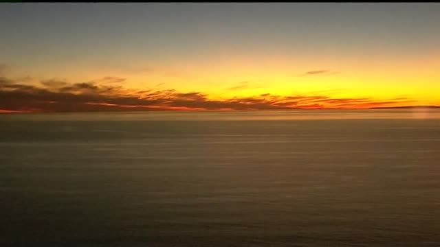 KSWB Aerial View of San Diego Sunset