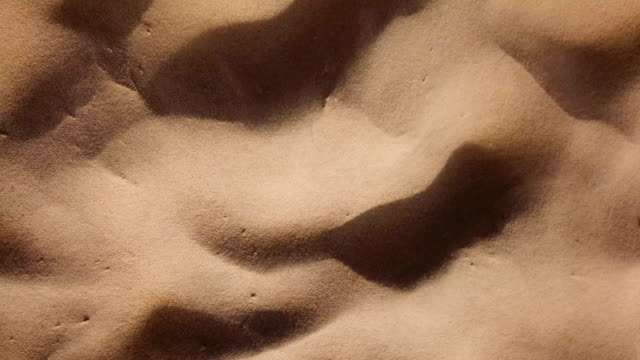 aerial view of sand dune - arid stock videos & royalty-free footage