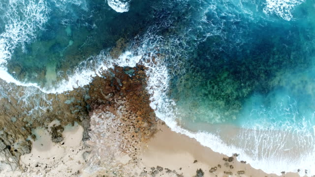 aerial view of sandbank in australia. - 20 seconds or greater stock videos & royalty-free footage