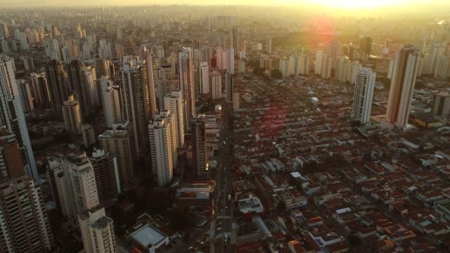 vídeos y material grabado en eventos de stock de vista aérea de sao paulo - são paulo