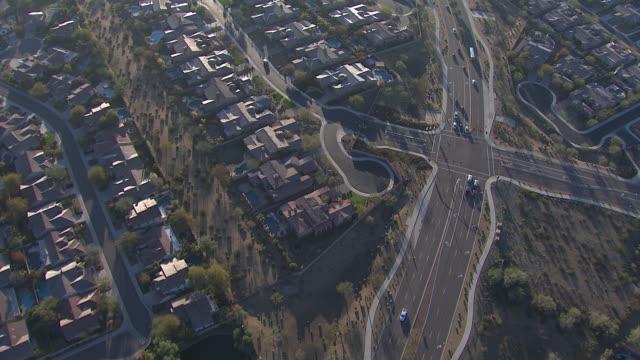 Luftaufnahme von Scottsdale, Tempe, Mesa Bereich, Arizona, USA