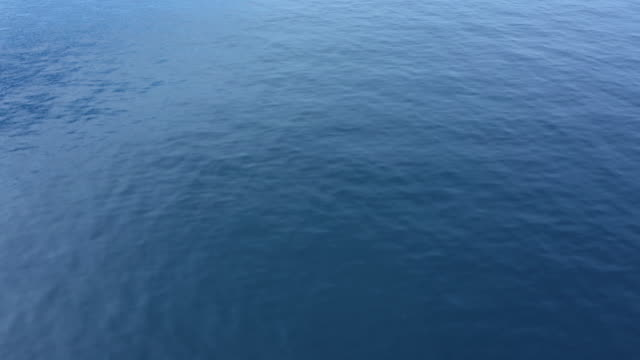 aerial view of sea surface - ocean surface level stock videos & royalty-free footage