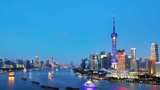 4 K: 中国上海市の空撮