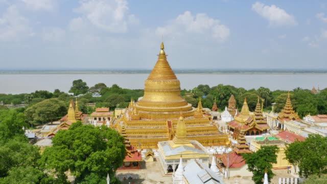 Aerial view of Shwezigon Pagoda