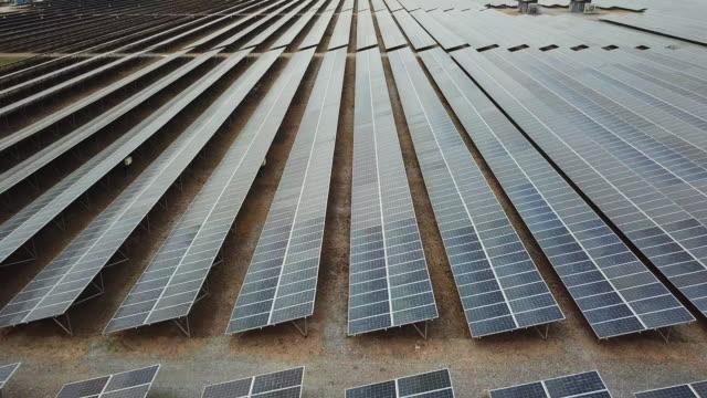 Luftaufnahme der Solarpark