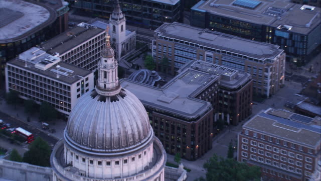 Aerial View of St Paul's Cathederal, London