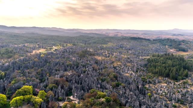 Luftaufnahme des Steinwald - Zeitraffer