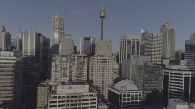 Aerial view of Sydney skyline. Sydney Australia
