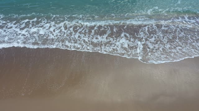 aerial view of the beautiful seascape - water's edge stock videos & royalty-free footage