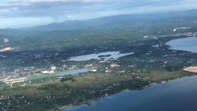 vidéos et rushes de vue aérienne du paysage cebu aux philippines - île