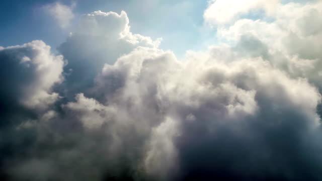Luftbild von der Cloud