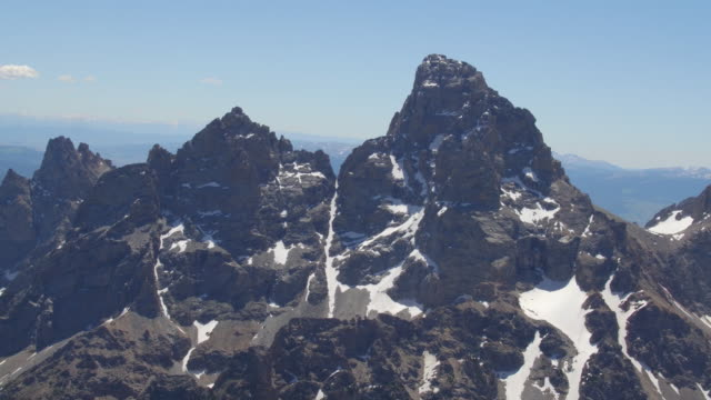 Aerial view of the Grand Teton