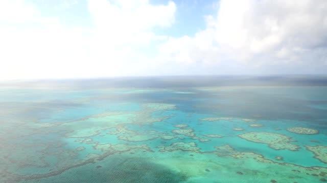 Luftaufnahme des Great Barrier reef