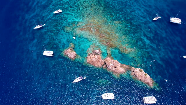 aerial view of the Indians, British Virgin Islands