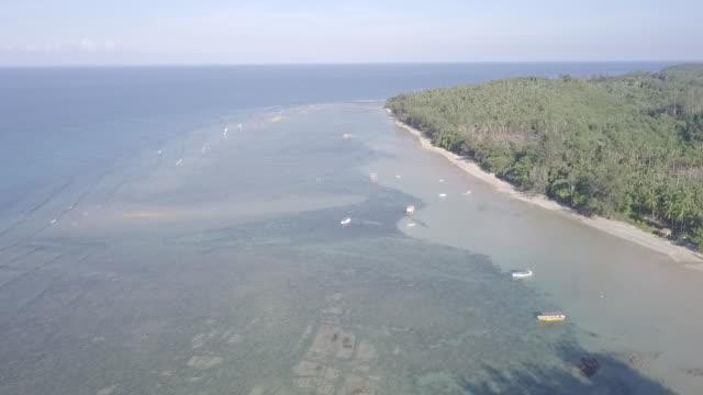Aerial View of the Island and Seascapes in Tunku Abdul Rahman National Park, Kota Kinabalu, Sabah, Malaysia