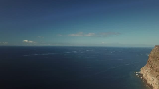 aerial view of the port of mogan, gran canaria, spain. - grand canary stock videos and b-roll footage
