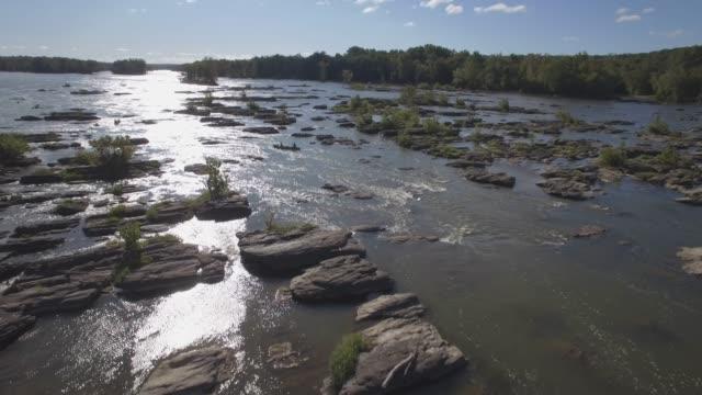 flygfoto över potomac river i maryland - maryland delstat bildbanksvideor och videomaterial från bakom kulisserna