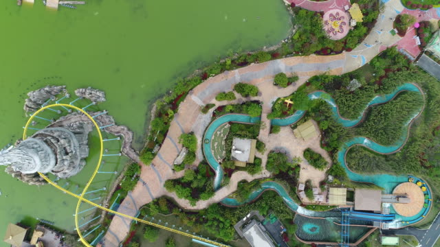 Aerial View of the Wanda Paradise in China