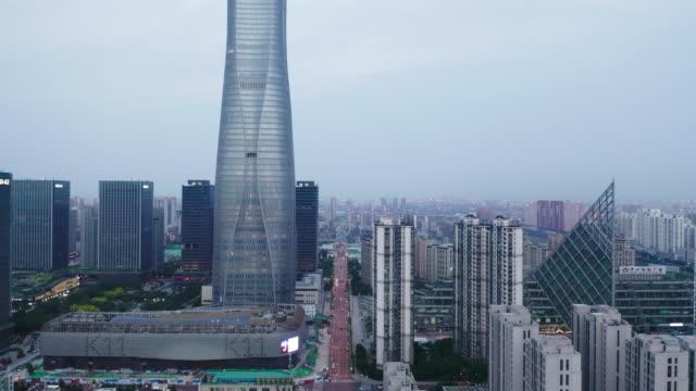 aerial view of tianjin binhai - liyao xie stock videos & royalty-free footage