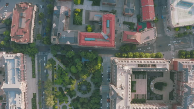 aerial view of tianjin cityscape - liyao xie stock videos & royalty-free footage