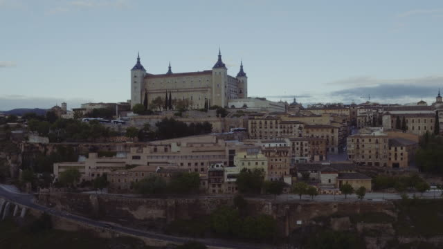 Aerial view of Toledo Cityscape