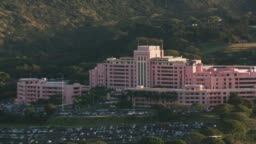 Aerial view of Tripler Army Medical Center.
