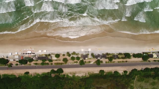 aerial view of tropical beach - dominican republic stock videos and b-roll footage