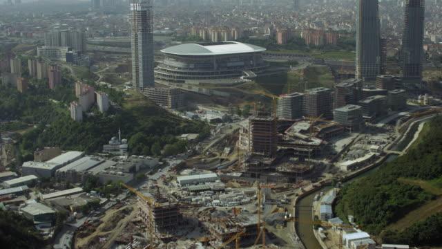 Aerial View Of Turk Telekom Arena