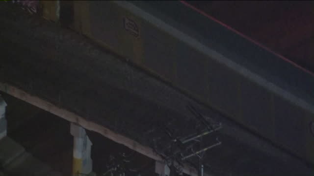 KTLA Aerial View of Union Pacific Freight Train Derailment in Lincoln Heights