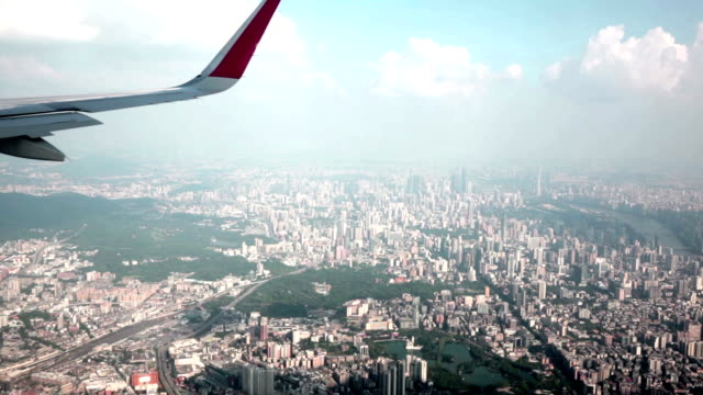 Aerial view of urban landscape in Guangzhou, China