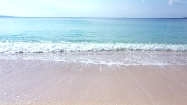 様々 な波のパターンの空撮 - 熱帯気候点の映像素材/bロール