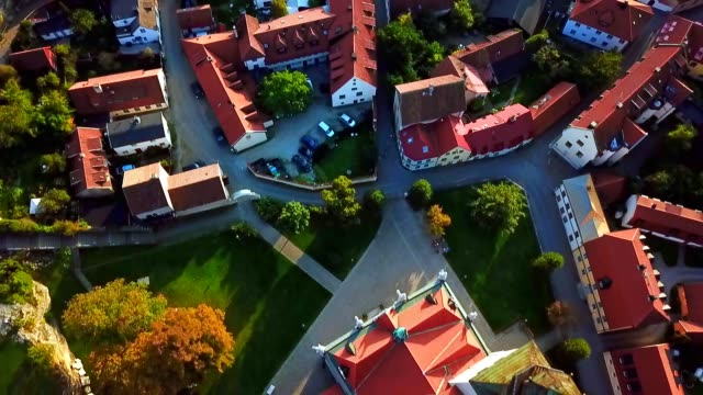 aerial view of visby - gotland / sweden - old town stock videos & royalty-free footage