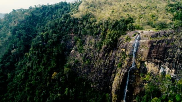 スリランカの滝全景 - スリランカ点の映像素材/bロール